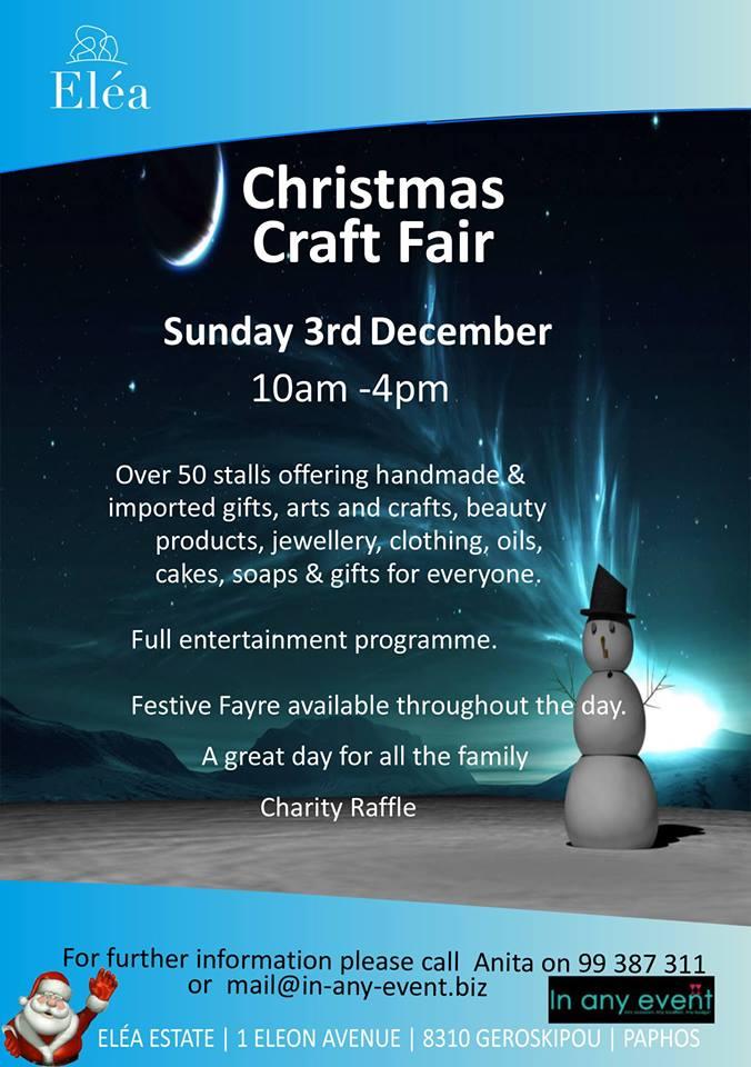 Elea Christmas Craft Fair