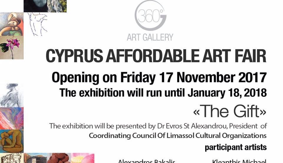 1st Cyprus Affordable Art Fair