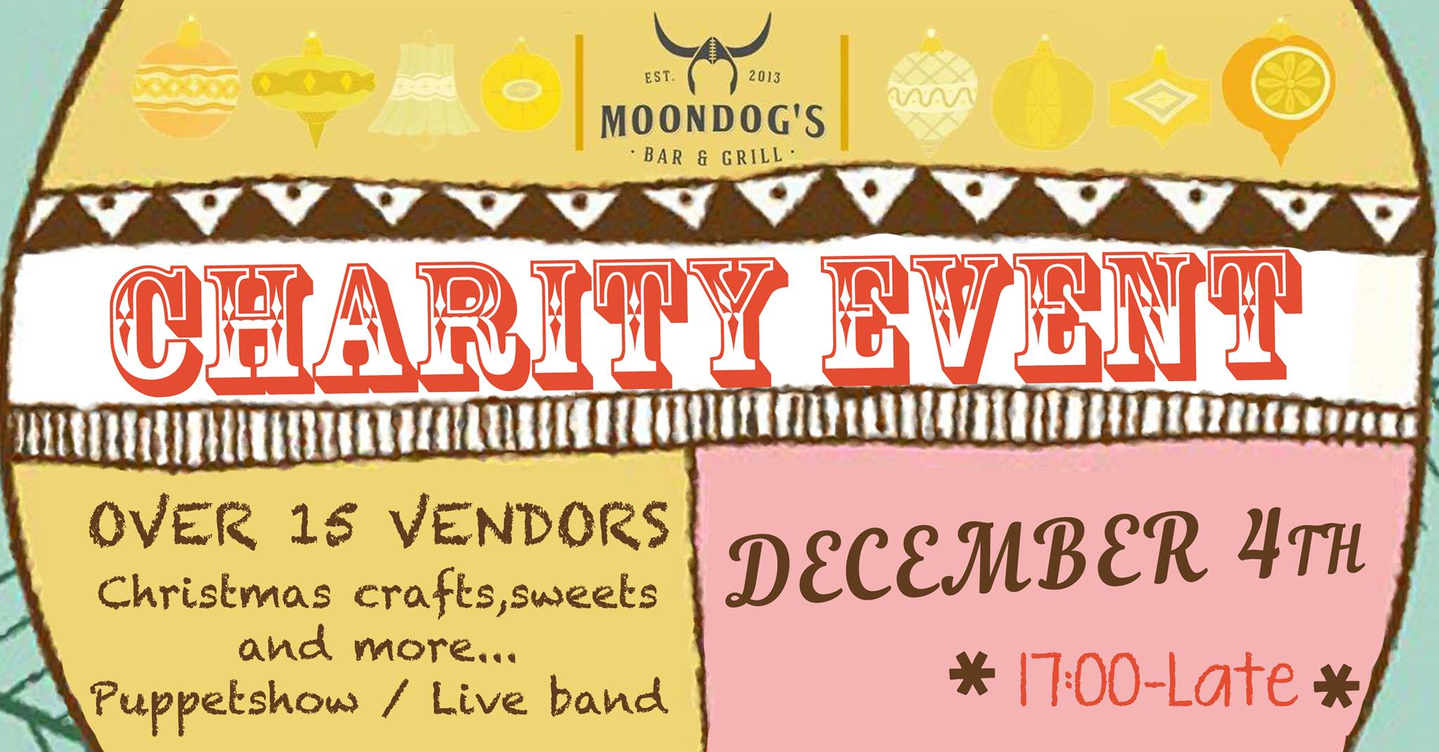 A very Merry Charity Party at Moondog's - 4th edition