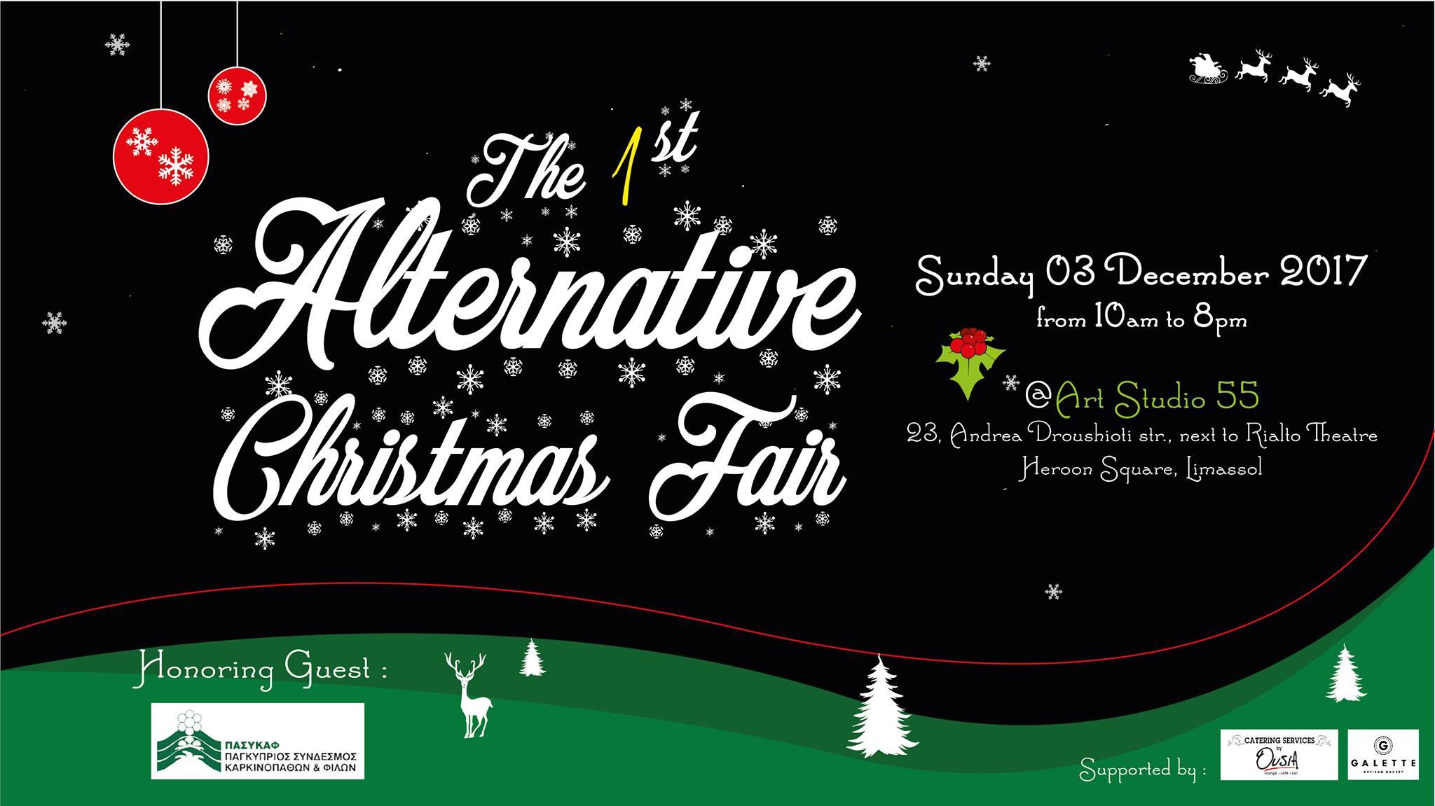 The 1st Alternative Christmas Fair