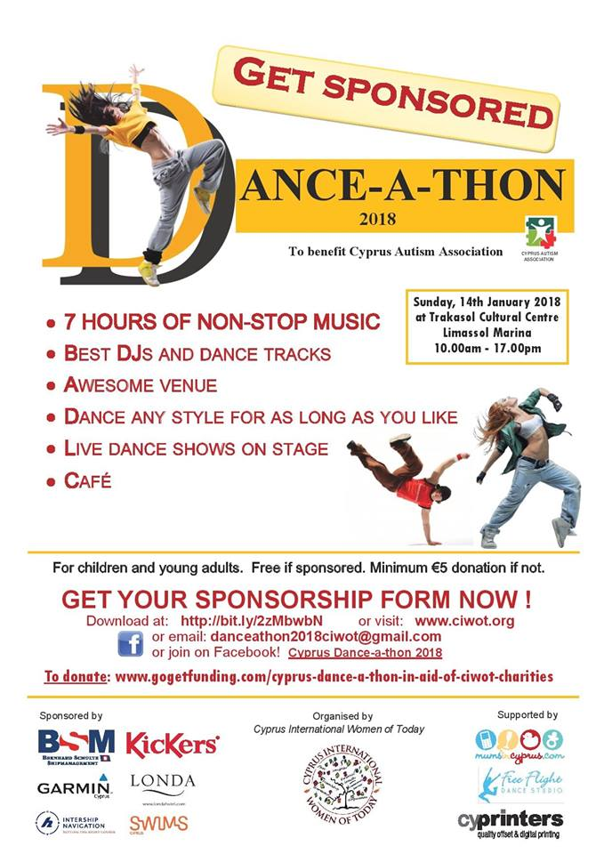 Cyprus Dance-a-thon in aid of CIWOT Charities!