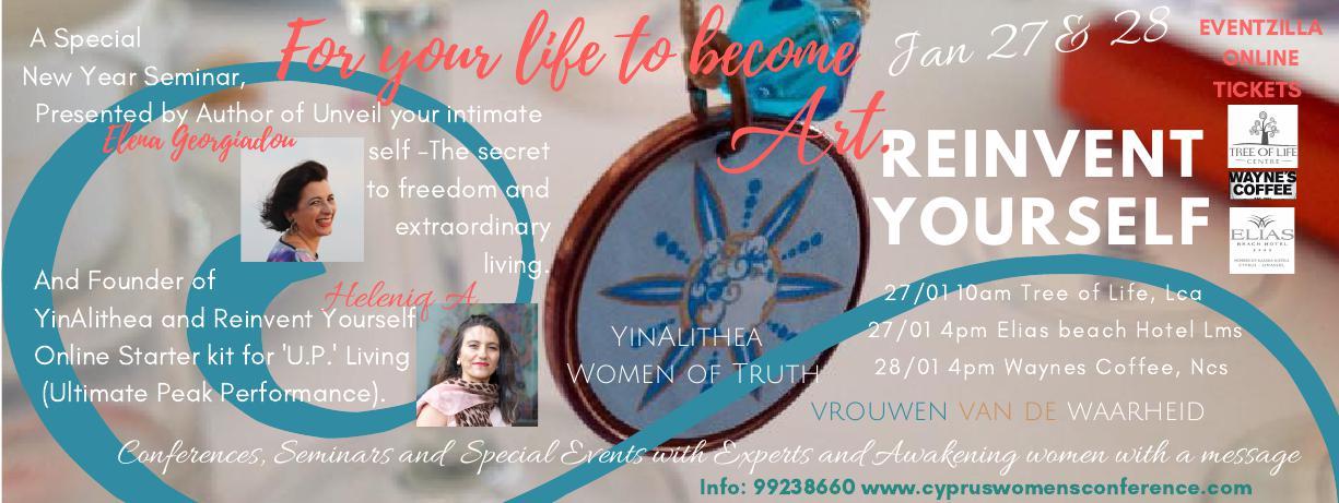 Reinvent Yourself - Limassol