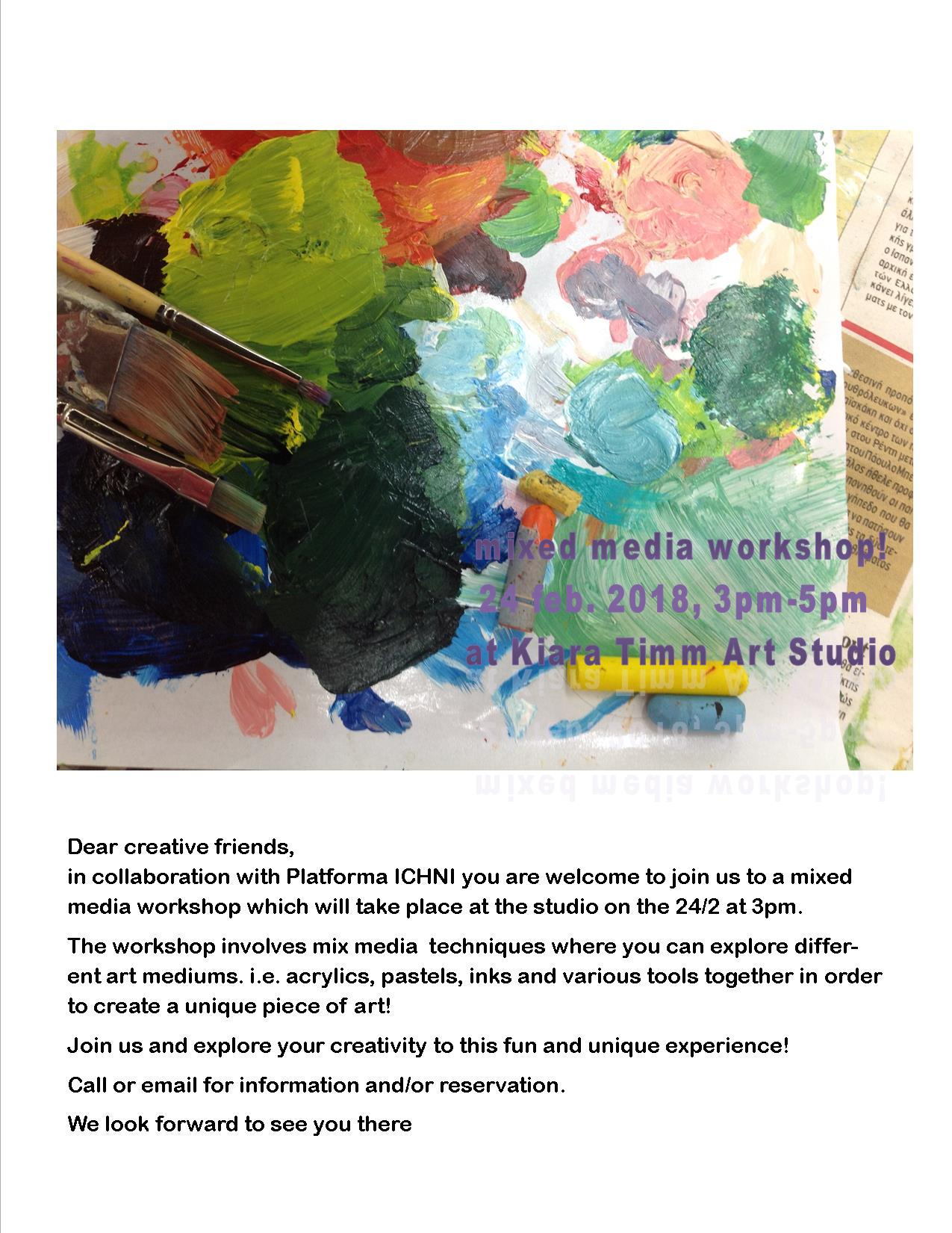 Mixed media workshop