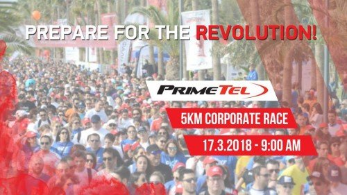 Primetel 5KM Corporate Race 2018