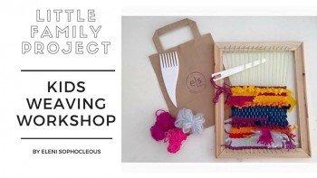 Weaving workshop by Eleni Sophocleous