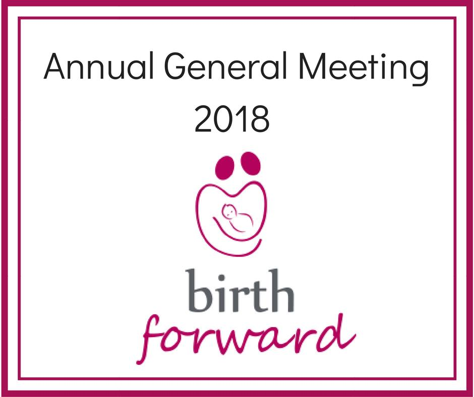 Birth Forward Annual General Meeting