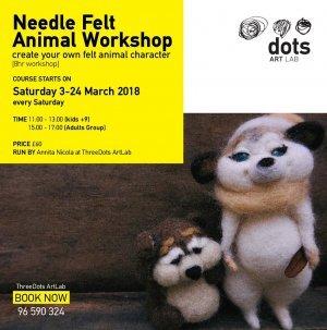Needle Felt Animal Workshop