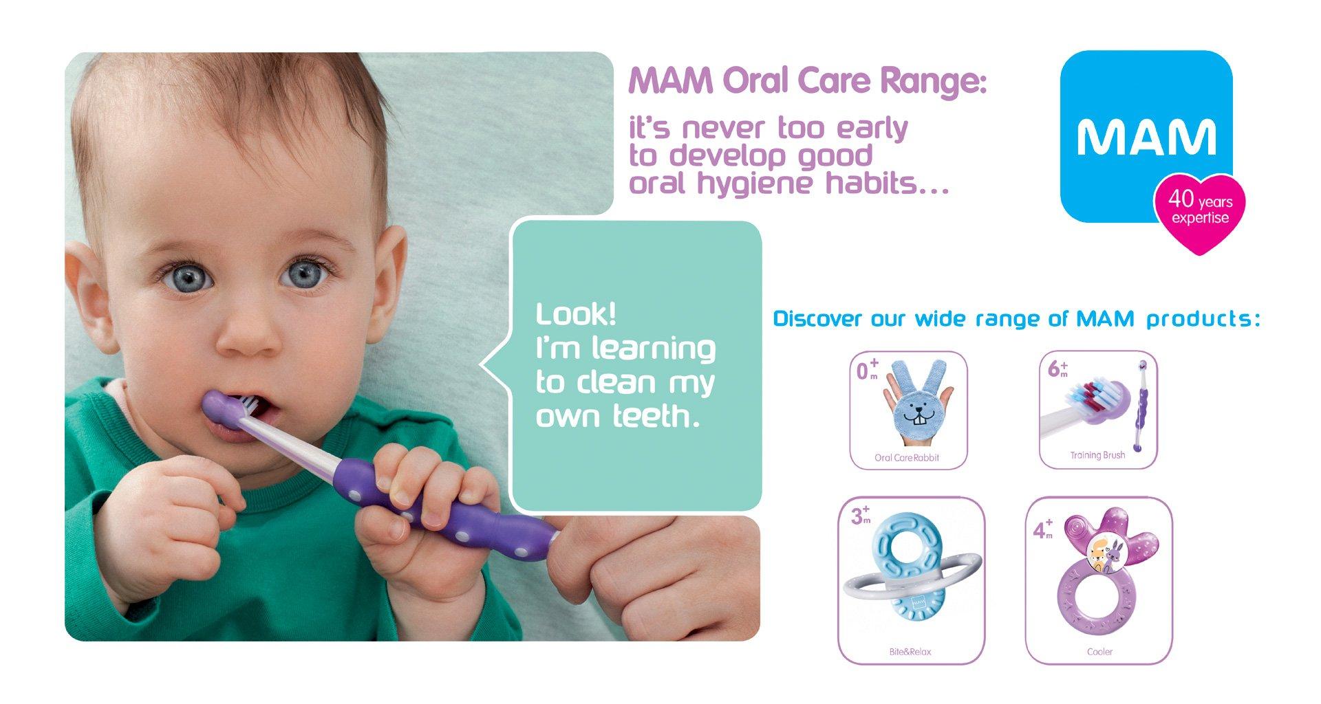 MAM Oral Care Range