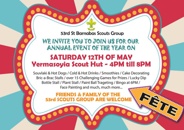 53rd St Barnabas Scouts Summer Fete