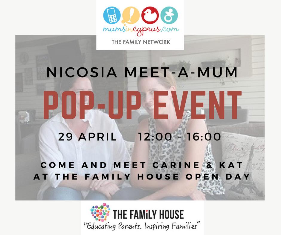 Meet-a-Mum Nicosia - Pop Up Event