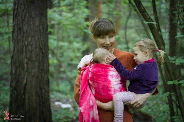 Babywearing Fundraiser Photoshoot