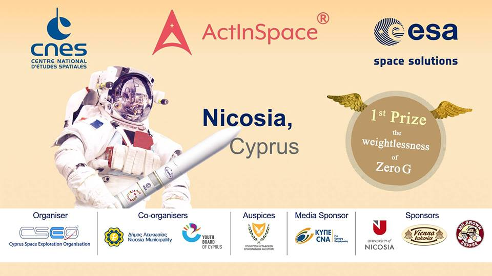 Act In Space Cyprus 2018