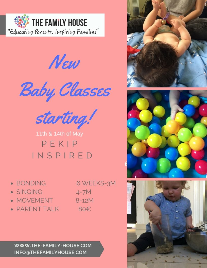New Pekip inspired Baby Classes starting!