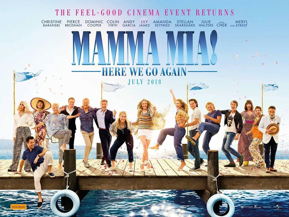 MAMMA MIA! HERE WE GO Again - Premiere!