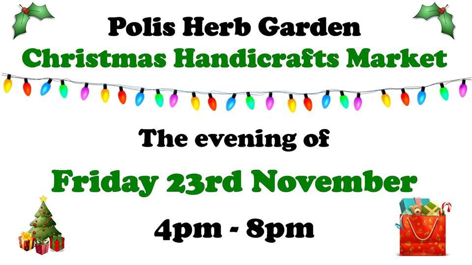 Polis Herb Garden Christmas Handicrafts Market - November 2018