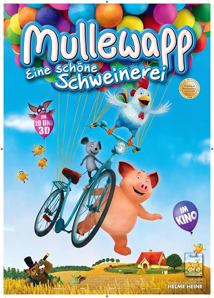 Animated adventure movie - Mullewapp
