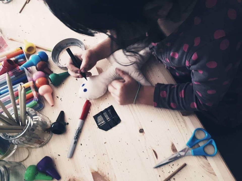 Doll making workshop by LASH DOLLS
