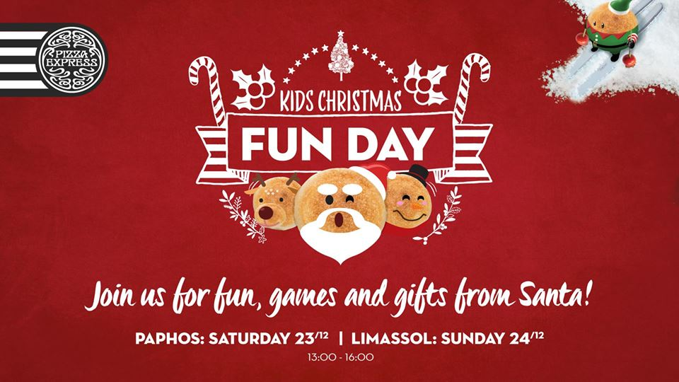 Kids Christmas Fun Day - Limassol & Paphos