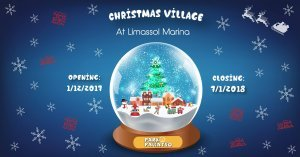 Christmas Village at Limassol Marina