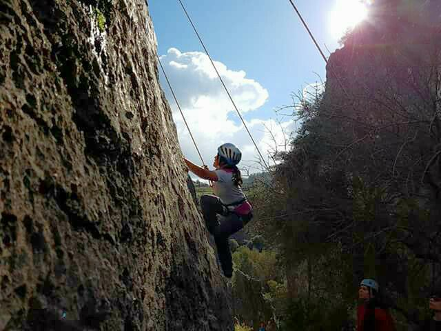 Outdoor Rock Climbing for Women and Girls - Diarizos Valley