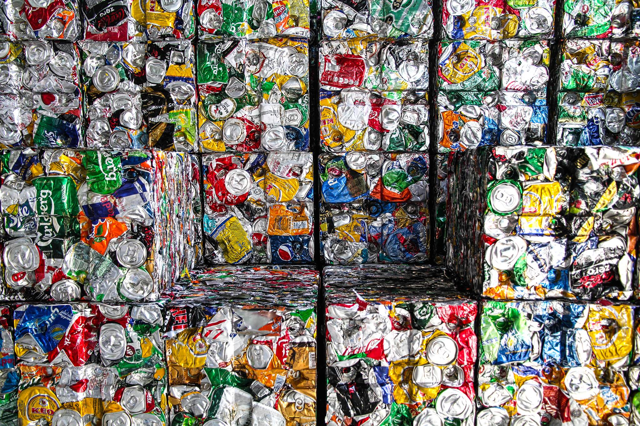 Cans for Kids - Saturday's Can Sorting