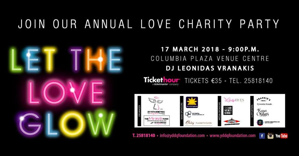 Let the Love Glow – Annual Charity Party