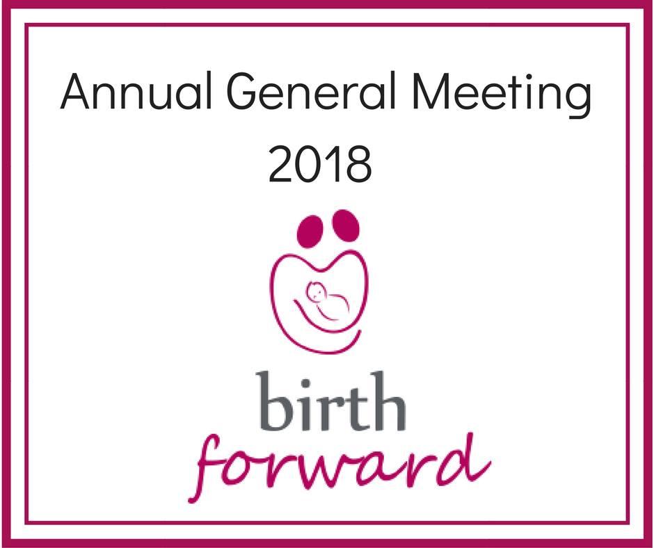 Birth Forward Annual General Meeting