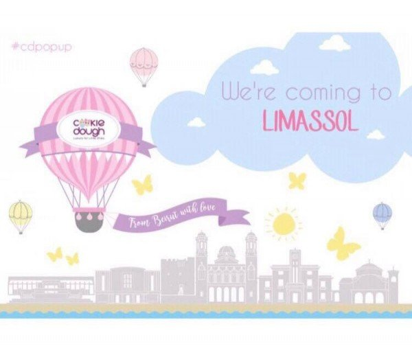 Cookie Dough Boutique Coming to Limassol!