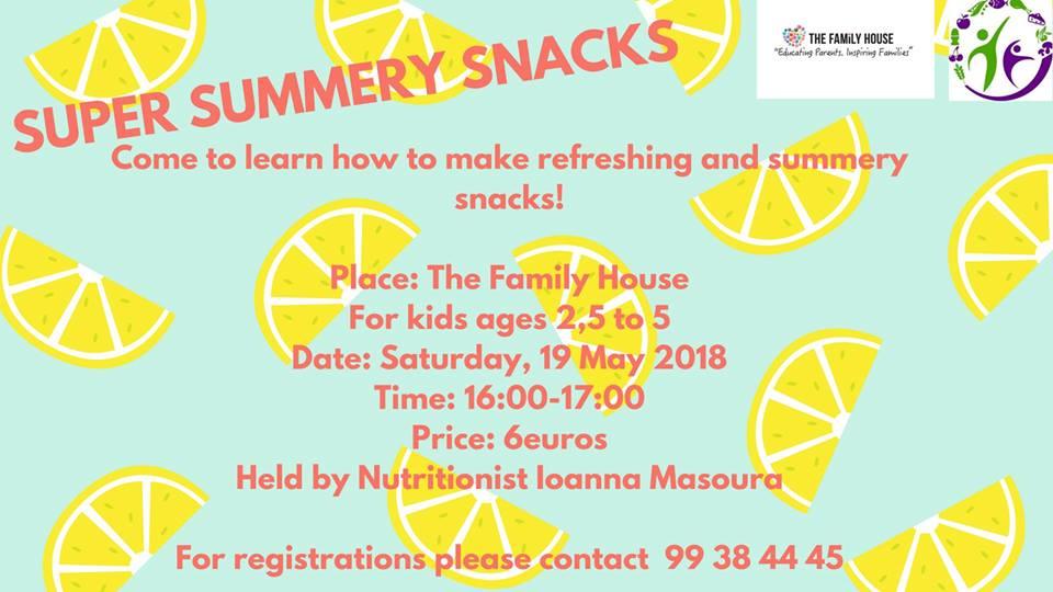 Super Summery Snacks