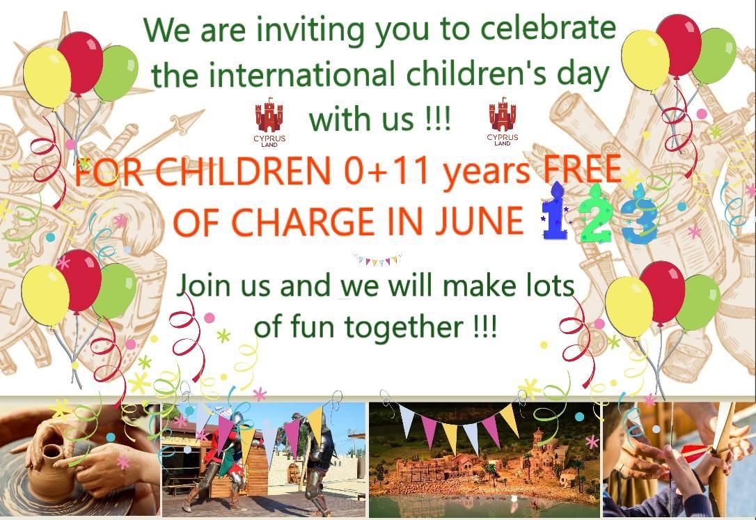 International Children's Day at Cyprus Land