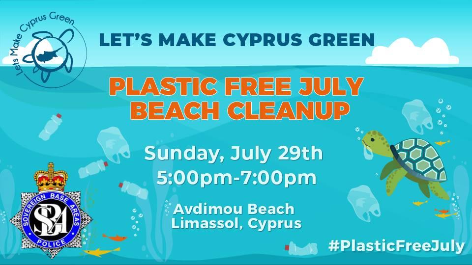 LMCG Plastic Free July Beach Cleanup