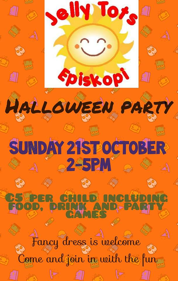Episkopi Jelly Tots Halloween Party