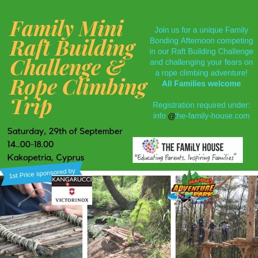 Family Mini Raft Challenge and Rope Climbing Trip