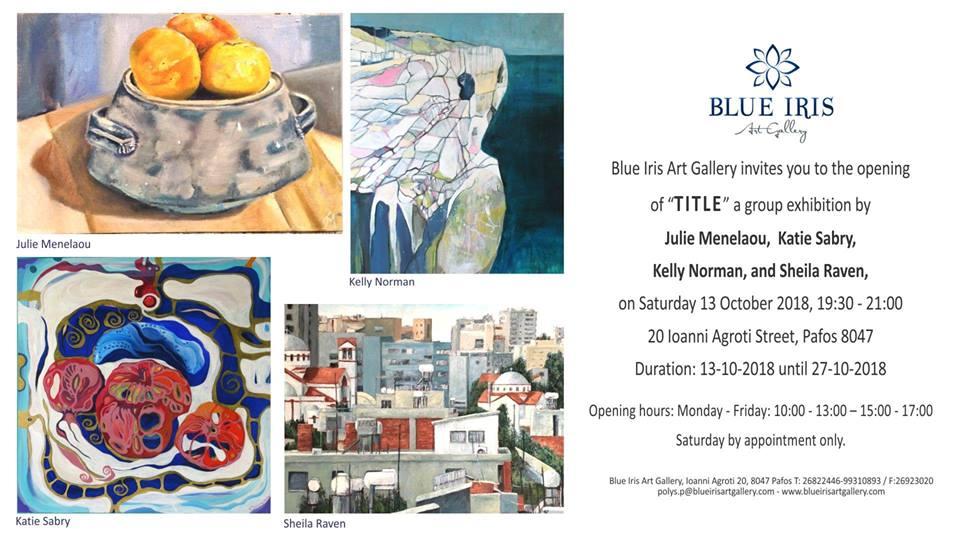 Title - Blue Iris Art Gallery