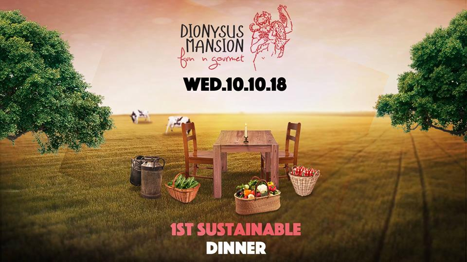 First Sustainable Dinner at Dionysus Mansion