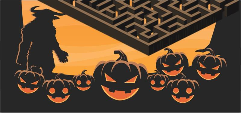 Halloween in the Labyrinth