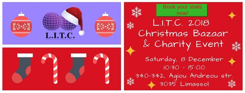L.I.T.C Christmas Bazaar and Charity Event