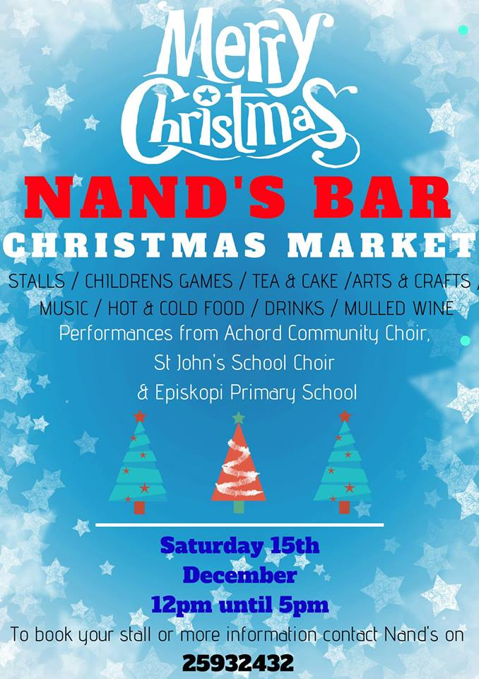 Christmas Market at Nand's Bar