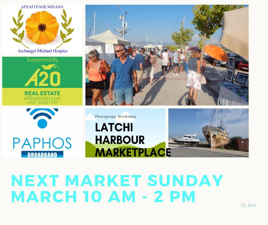 Latchi Harbour Market Place
