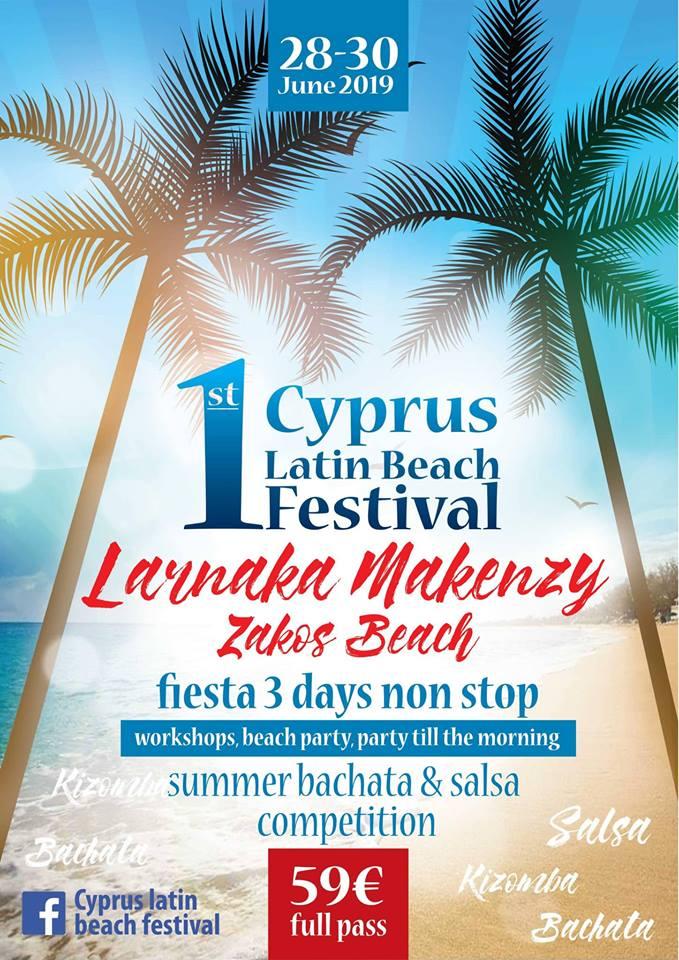 1st Cyprus Latin Beach Festival-Larnaka