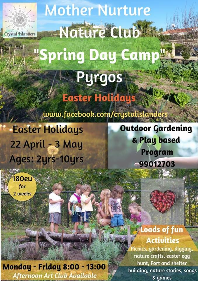 Mother Nurture Nature Club - Spring Day Camp