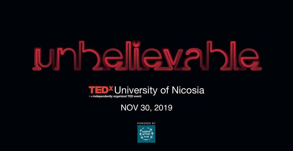 TEDxUniversityofNicosia Unbelievable