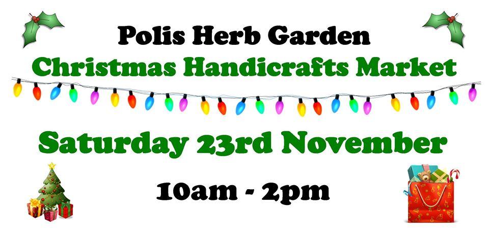 Polis Herb Garden Christmas Handicrafts Market