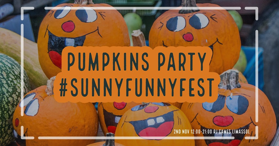 Kids Garage Sale #SunnyFunnyFest: Pumpkins PARTY
