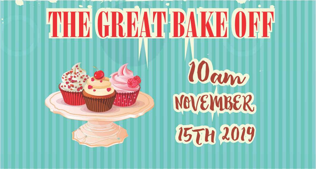 The Great Bake Off Charity Day